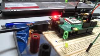 Llamada y sms con arduino y módulo GSM Icomsat