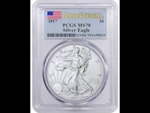 Unboxing 2017 1 oz American Silver Eagle Coin PCGS MS70 for the 4th of July!