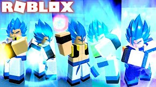 Update! NEW SUPER DRAGON BALL GOGETA SSB FROM BROLY MOVIE IN ROBLOX! DRAGON BALL RP