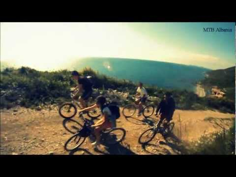 Train n' bike trip. Moutain Bike Albania. May 2012