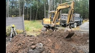 Preparing a site for a monolithic slab