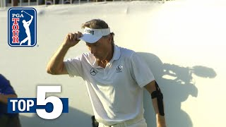 Bernhard Langer's winning eagle putt leads Shots of the Week