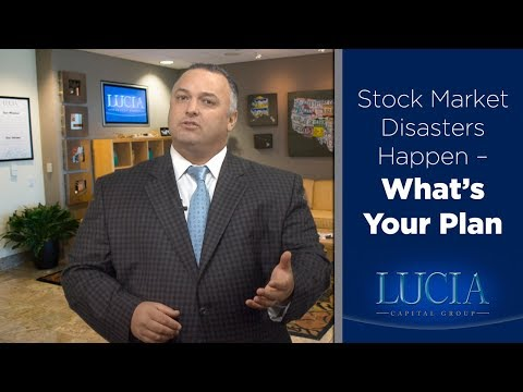Stock Market Disasters Happen... What's Your Plan? - Lucia Capital Group Weekly with Ray Lucia Jr.