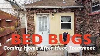 BED BUG TREATMENT - Coming Home After the BED BUG Heat Treatment