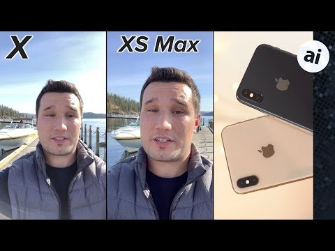 IPhone XS Max Vs IPhone X Video Quality Comparison!