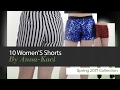 10 Women'S Shorts By Anna-Kaci Spring 2017 Collection