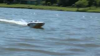 радиоуправляемый катер PRO BOAT Blackjack 9 Catamaran обзор