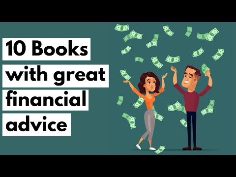 10 BOOKS WITH GREAT FINANCIAL ADVICE