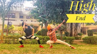 Bhangra on High End || con.fi.den.tial || Diljit Dosanjh || Impression of Bhangra