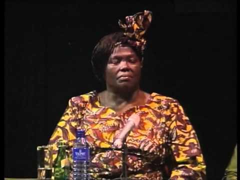 Prof Wangari Maathai 3rd Nelson Mandela Annual Lecture 2005.wmv