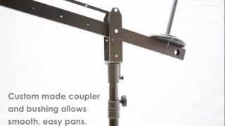 ProAm USA Camera Crane Stand - 360º Panning Demonstration