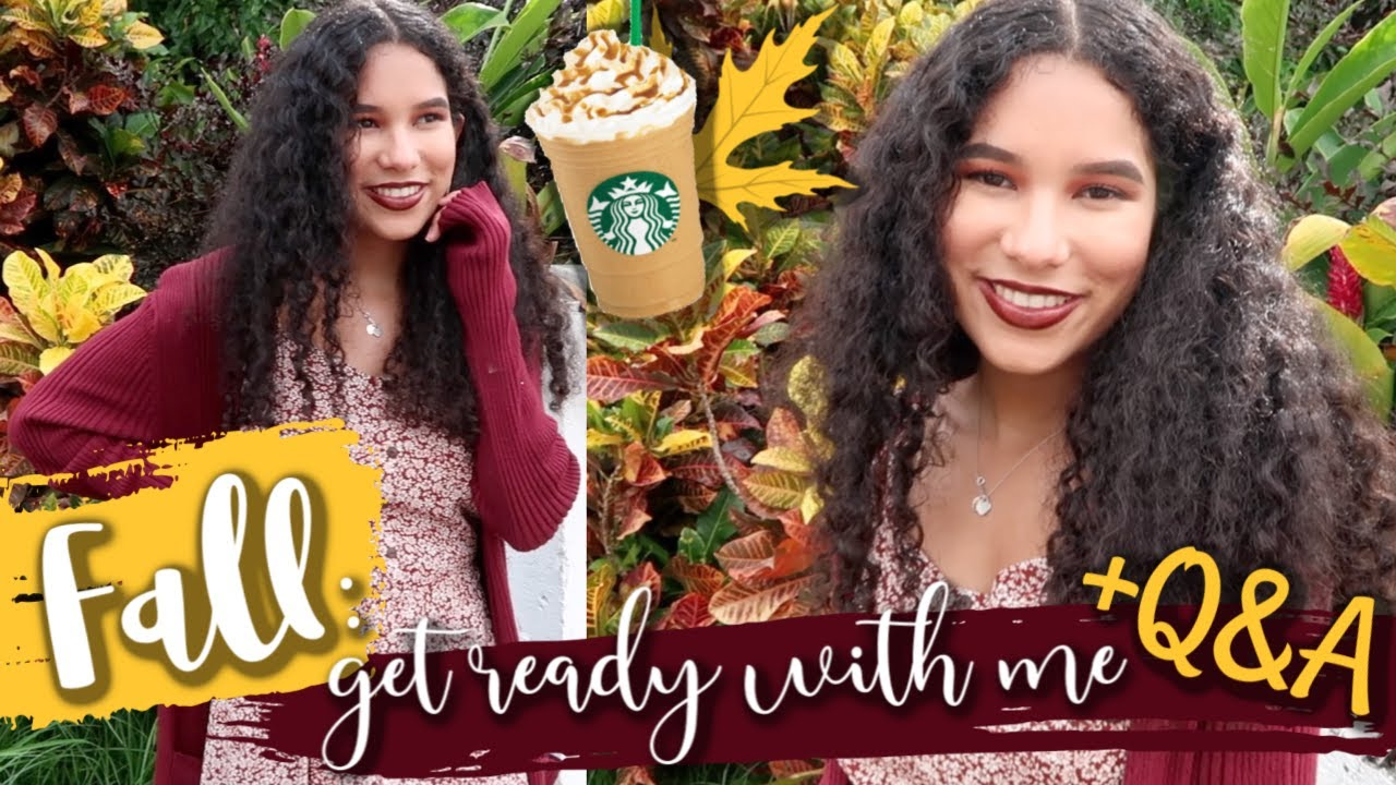 [VIDEO] - FALL GRWM 2019: FALL OUTFIT, MAKEUP AND HAIR | (get ready with me fall edition) 2