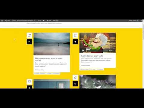 Lemon - Responsive Porfolio Wordpress Theme: Creating new post