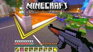 Minecraft 1.8 CUSTOM COD ZOMBIES MAP with Vikkstar