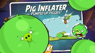 WARNING MASSIVE PIGS! Angry Birds 2 Pig Inflater Spell Unlocked