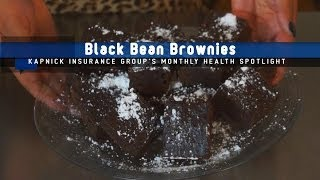Healthy Holiday Makeover: Black Bean Brownies