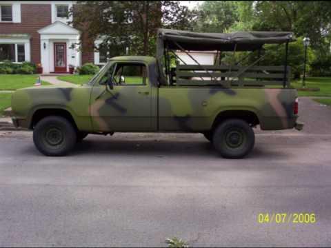 My Dodge M880 1 - YouTube