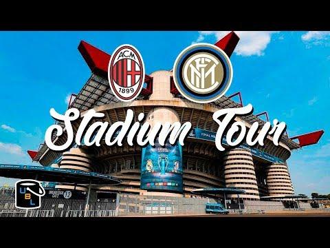 ⚽ San Siro Stadium Tour & Game - AC & Inter Milan