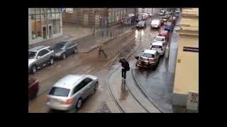 A rainy day in Vienna 16.5.2014 يوم ماطر في فيينا