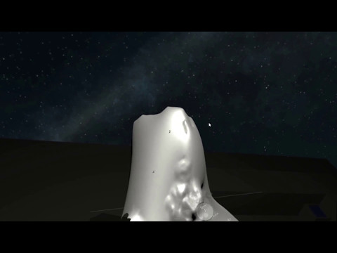 3D geological sculpting using HTC Vive