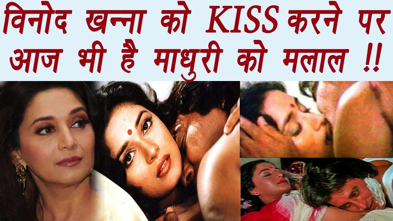 vinod khanna madhuri dixit regrets kissing scene actor filmibeat youtube
