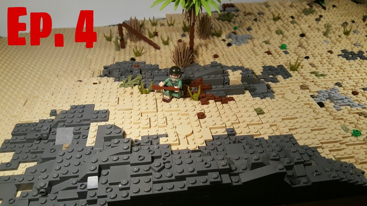 LEGO WW2: Building Iwo Jima Update 4 - YouTube