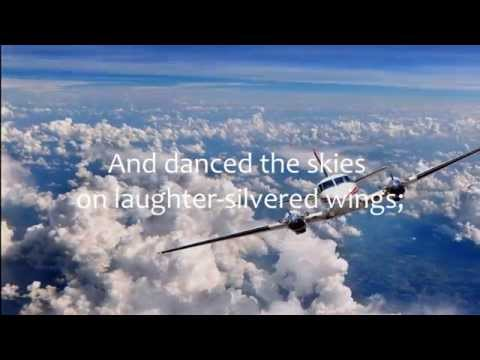 High Flight (musical setting of poem by John G. Magee, Jr. updated 11-5-2014)