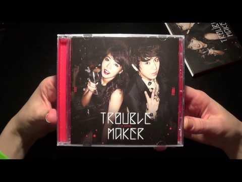 Unboxing Trouble Maker 트러블 메이커 1st Mini Album Trouble Maker (Taiwan Version)