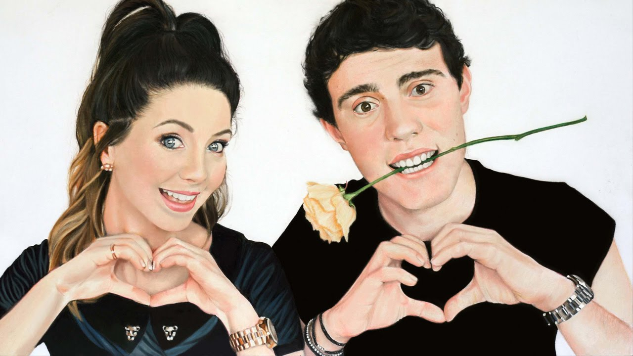 Zalfie drawing (Zoe & Alfie) - YouTube
