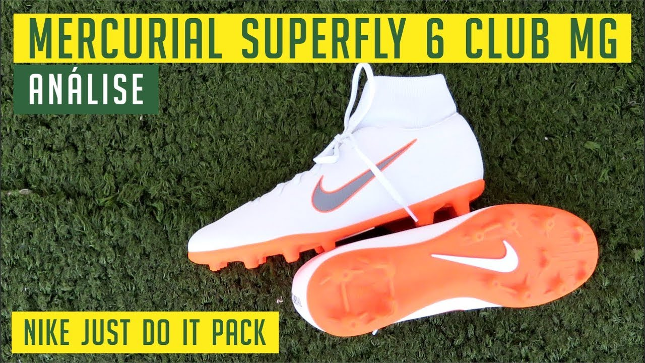 f09728f3fdc89 CHUTEIRA NIKE MERCURIAL SUPERFLY 6 CLUB MG (JUST DO IT PACK ...