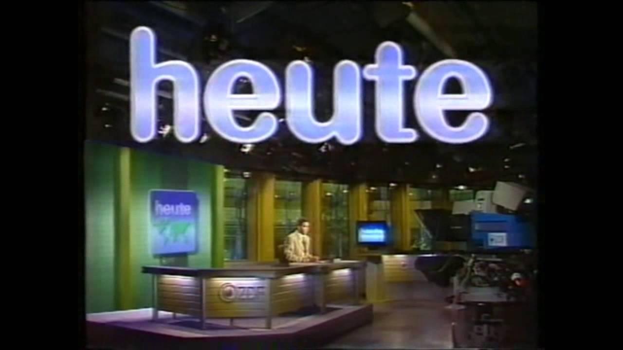 ZDF heute Intros von 1963 bis 2014