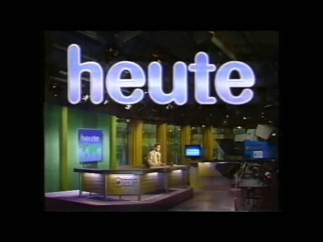 Alle ZDF heute-Intros von 1963 bis 2014