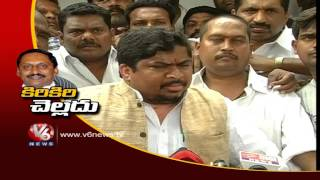 Telangana ministers complain against CM Kiran for depriving Sridhar...