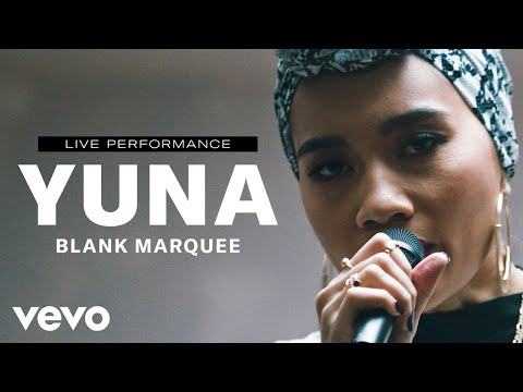 Смотреть клип Yuna - Blank Marquee