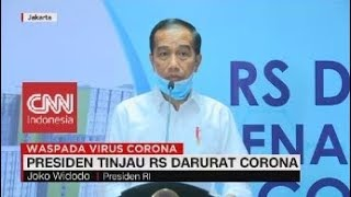 Gambar cover Presiden Jokowi Tinjau RS Darurat Corona