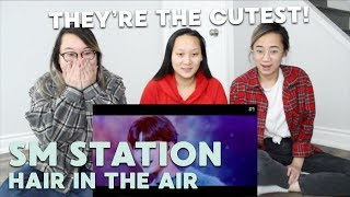 "MV REACTION   SM STATION/STATION 3 (예리X런쥔X제노X재민) ""Hair in the Air"""