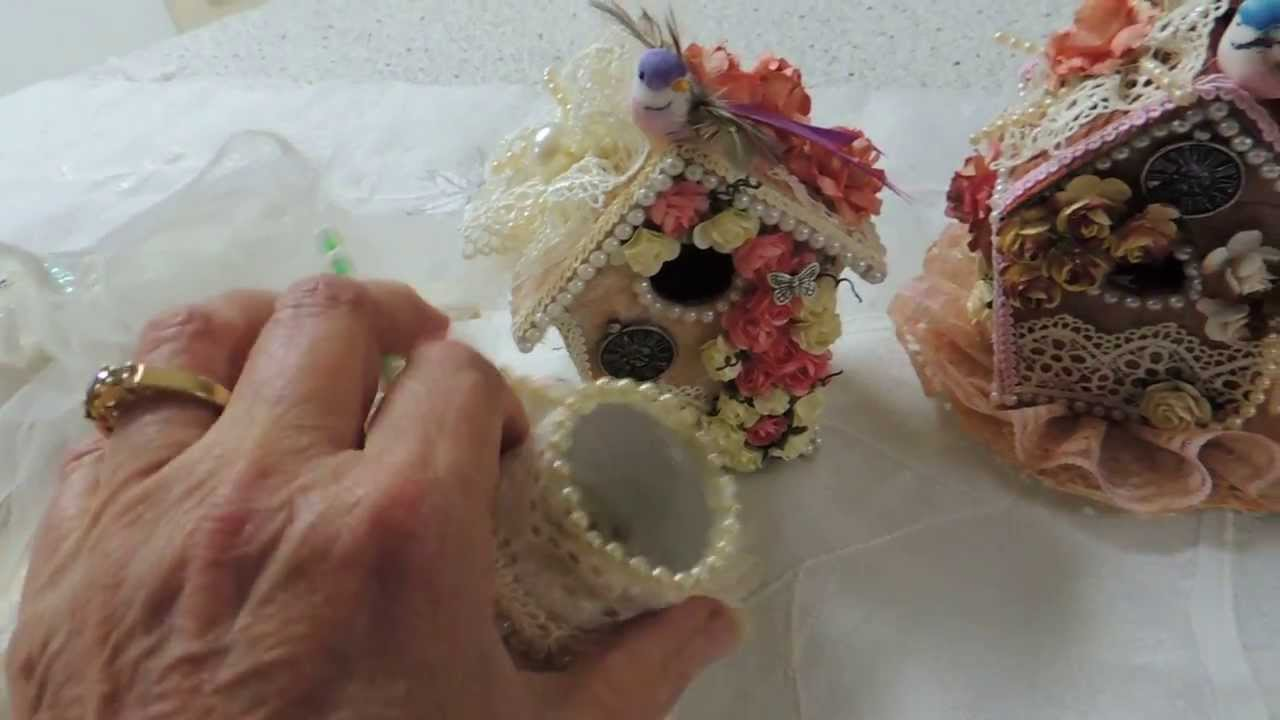 Shabby Chic Crafts -Reupload - YouTube