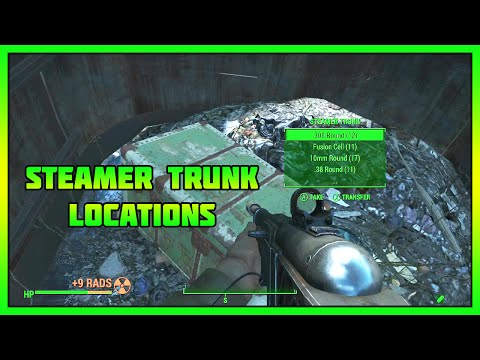Fallout 4 - 3 Secret Steamer Trunk Locations
