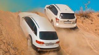 Все Прифигели!  Audi Против  Subaru Forester , Тигуан И Toyota Rav4