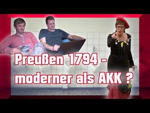 AKK, Intersexualität Und Zwitterparagraph I Toilettenwitz Reaction