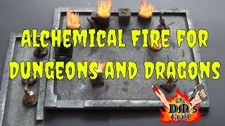 Easy To Craft Alchemical Fire Markers For D&d (the Dm's Craft #80)
