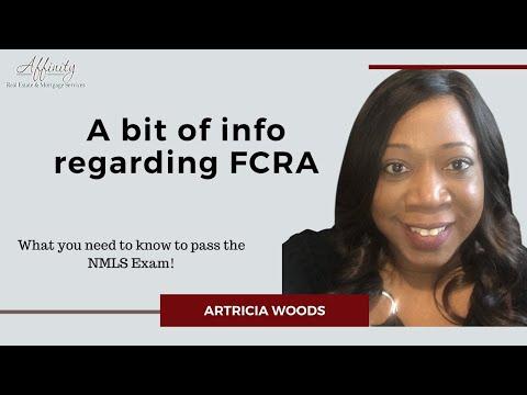 A bit of info regarding FCRA