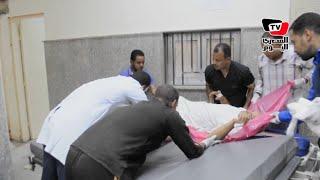 نقل مصابي حادث تصادم ٣ سيارات بطريق الأقصر أسوان إلى مستشفى إسنا