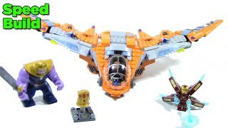 LEGO Avengers Infinity War 76107 Thanos Ultimate Battle - Lego Speed Build