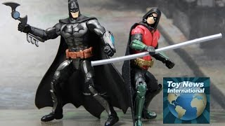 "DC Comics Multiverse 4"" Batman Arkham Knight Robin Figure Review"