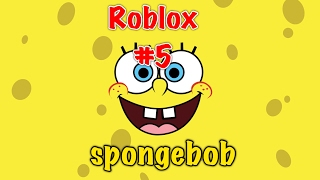 Roblox#5 Escape Spongebob Obby!