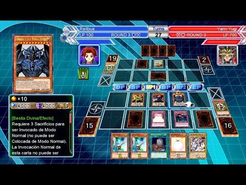 DECK DIOSES EGIPCIOS Ra Obelisko y Slifer mismo tiempo YuGiOh Millennium Duels PS3 Xbox 360