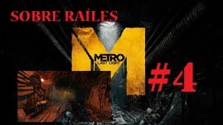 Metro Last Light Gameplay Walkthrough español Xbox360 | Coches sobre raíles HD AVI Parte 4