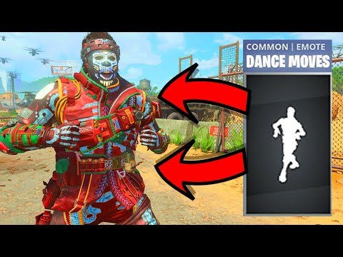 I figured out how to do the Default Dance on Black Ops 4