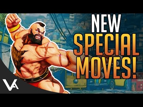 SFV - New Special Move Attacks & Changes! Latest Patch Update For Street Fighter 5 Season 2